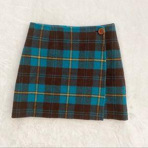 LILLY PULITZER Reversible Wool Wrap Mini Skirt, 2